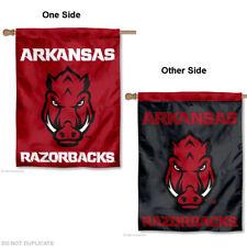 Arkansas Razorbacks Two Sided House Flag