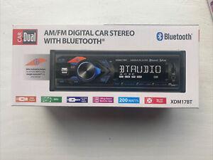 Dual Electronics XDM17BT Single DIN Car Stereo