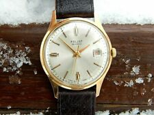 Vintage Formal Poljot Automatic Gold Plated cal.2416 men's Wrist Watch 70's