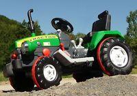ELEKTRO Traktor mit TURBO-SPEED Gang & 12-Volt AKKU in TOP QUALITÄT        05210