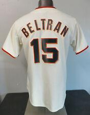 Mens Majestic MLB Giants Beltran Jersey Size M 6700 Polyester Stitched