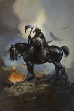 Death Dealer By: Frank Frazetta Poster 24in x 36in