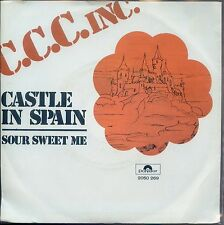 7inch C.C.C. INC castle in spain HOLLAND EX+  DOE MAAR 1973