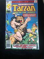 Edgar Rice Burroughs Tarzan Lord Of The Jungle #1 Marvel Comics Key Issue.