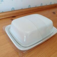 White Porcelain Butter Dish