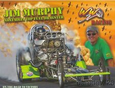2016 Jim Murphy WW2 Racing Nostalgia Top Fuel Dragster postcard