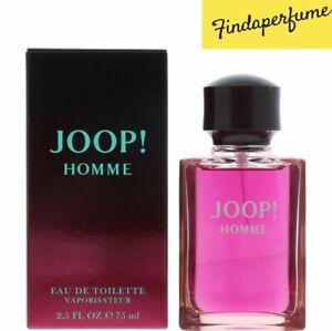 JOOP! HOMME EAU DE TOILETTE EDT 75ML SPRAY - MEN'S FOR HIM. NEW. FREE SHIPPING