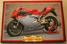 MV AGUSTA F4 SERIE ORO 750 CLASSIC MOTORCYCLE BIKE 1990'S  PRINT PICTURE 1999