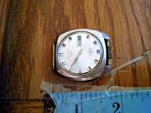 "VINTAGE SEIKO 5 MEN'S AUTOMATIC ""DAY/DATE"" WRIST WATCH 6119-7103 working  #1"