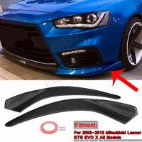 Car Tuning Drift Rally Custom Front Panel Flexible Deflector Edge RhinoLip® Trim