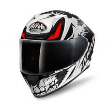 Airoh Valor Bone Matt Full Face Motorcycle Motorbike Helmet M - Italian Quality