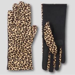 Women's SmartDri Glove with SmarTouch Technology - Leopard - One Size - S421