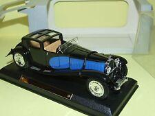BUGATTI ROYALE 1928 Bleu & Noir ATLAS VOITURE D'EXCEPTION 1:43