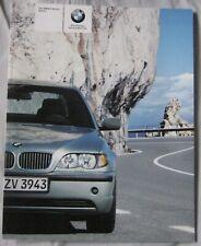 2004 BMW 3 series saloon Brochure Pub.No. 41100309221