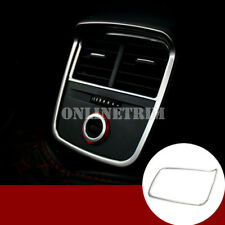 Interior Armrest Box Rear Air Vent Outlet Cover Trim For Audi A3 S3 2014-2018