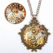 Steampunk Necklace and Ring Set - Costume Accessory