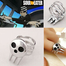 ANELLO SOUL EATER RING DEATH THE KID EVANS MAKA LORD SHINIGAMI COSPLAY MANGA #1