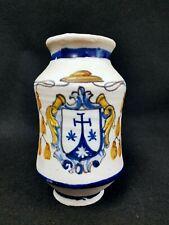 Vintage Antique Albarello Pharmacy Jar by Ysauro Uriarte  Pueblo, Mexico