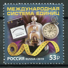 Russia 2019 MNH International Systems of Units SI 1v Set Science Stamps