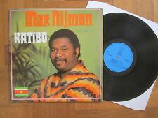 Max Nijman – Katibo - Dutch Blue Elephant LP 1975