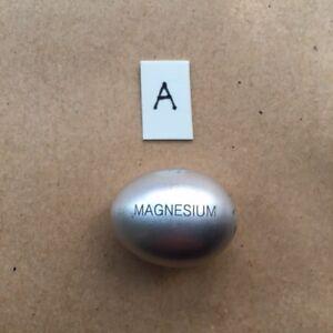 "MAGNESIUM MINI  .75""  ""EGG"" - SPHERE-  .25 ounce- VERY UNIQUE .999 PURE -Gift"