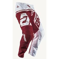 Answer Air pants Mx Motocross Enduro Off Road  White Red