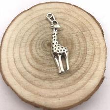 3Pc Giraffe Charm Tibetan Silver Tone Pendant  Charms Pendants 40x11mm
