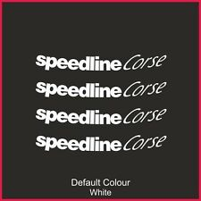 "Speedline Turini Outer Rim Decals for 18"" rims, Alloys, Wheels, N2144"
