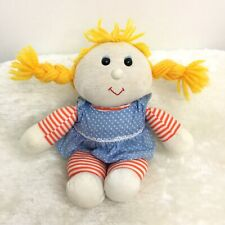 Vintage 1979 Russ Berrie Li'l Madeline Collectible Plush 10� Rag Doll Good Cond