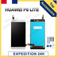 VITRE TACTILE + ECRAN LCD ORIGINAL PRET-A-MONTER POUR HUAWEI P8 LITE 2016 BLANC