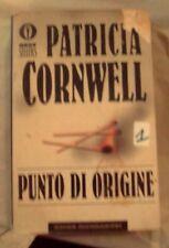 """DALLA MIA COLLEZIONE PATRICIA CORNWELL  : """" PUNTO D'ORIGINE"""" 2000"""