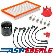 Inspektionspaket Luftfilter Ölfilter Zündkabel Jeep Wrangler TJ 4,0 L 99-00