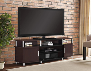 """Ameriwood Home Carson TV Stand for TVs up to 70"""", Cherry"""