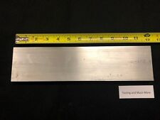 """3/4"""" thk  x 3.00"""" ALUMINUM  Flat Bar, plate 6061 12.00"""" long"""