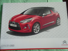 Citroen DS3 range brochure Feb 2010