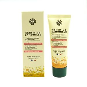 Yves Rocher Sensitive Camomille Soothing Light Cream 50ml Dry and Sensitive Skin