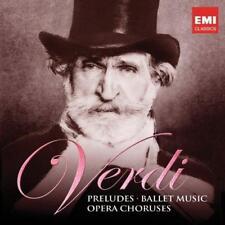 Riccardo Muti - Verdi: Preludes, Ballet Music And Opera Choruses (NEW 2 x CD)