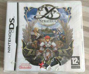 YS Strategy (Nintendo DS 2013) - WORLDWIDE SHIPPING - ENGLISH LANGUAGE VERSION