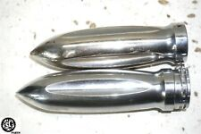 05 HARLEY DAVIDSON SOFTAIL FLST CHROME HANDLEBAR GRIP THROTLE TUBE