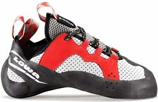 Lowa 2017 Red Eagle Lacing Red/Black Alpine Climbing Shoes UK 4