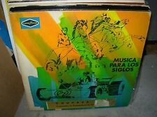 VARIOUS musica para los siglos  ( world music ) - 3lp - goodyear -