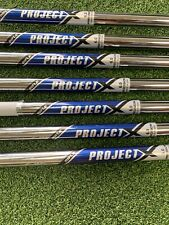 Set of Project X Rifle 6.0 Iron Shafts .355 Tip 4-PW Standard Length *No Reserve
