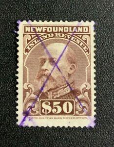 Newfoundland Revenue Stamp #NFR14 Used