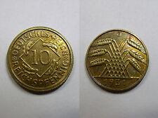 Weimar, 10 Empire pfennig 1931 G vz-st, chasseur 317, # 294