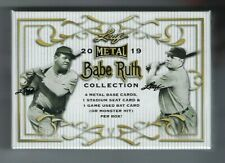 2019 Leaf Metal Babe Ruth Collection Hobby Box NEW