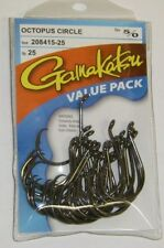GAMAKATSU OCTOPUS CIRCLE HOOK VALUE PACK 5/0 208415-25