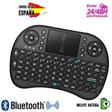 Mini Teclado Inalámbrico Smart TV Rii i8 con Touchpad - Negro