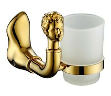 Gold clour BATHROOM ACCESSORIES beauty single cup tumbler holder