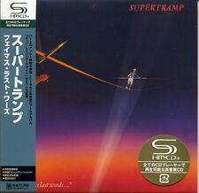 SUPERTRAMP ...Famous Last Words... (1982) Japan Mini LP SHM-CD UICY-93615
