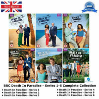 BBC Death In Paradise Series 1 - 6 Complete Collection Bonus Features Behind DVD